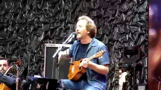 """Crazy Little Thing Called Love"" - Eddie Vedder live 6 July 2019, Wembley Stadium, London"