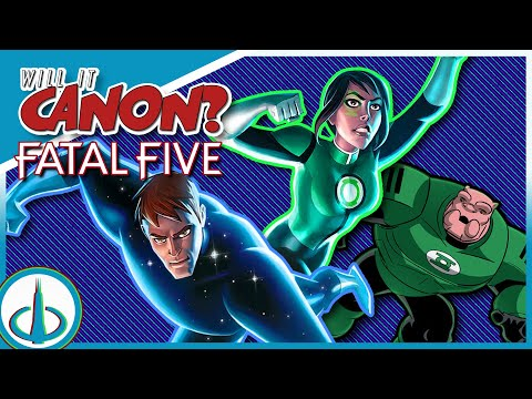 """JUSTICE LEAGUE vs THE FATAL FIVE"" - Part of the DCAU? 