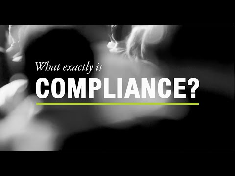 What exactly is Compliance?