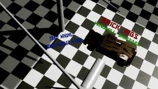 CRAZY WINDMILL SENDS VEHICLES FLYING!   BRICK RIGS - WINDMILL SHREDDER
