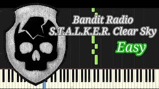 Bandit Radio (Easy) - S.T.A.L.K.E.R. Clear Sky (Synthesia)