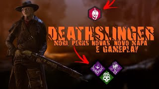 DEATHSLINGER, O NOVO KILLER DO DEAD BY DAYLIGHT - MORI, PERKS NOVAS, NOVO MAPA E GAMEPLAY!