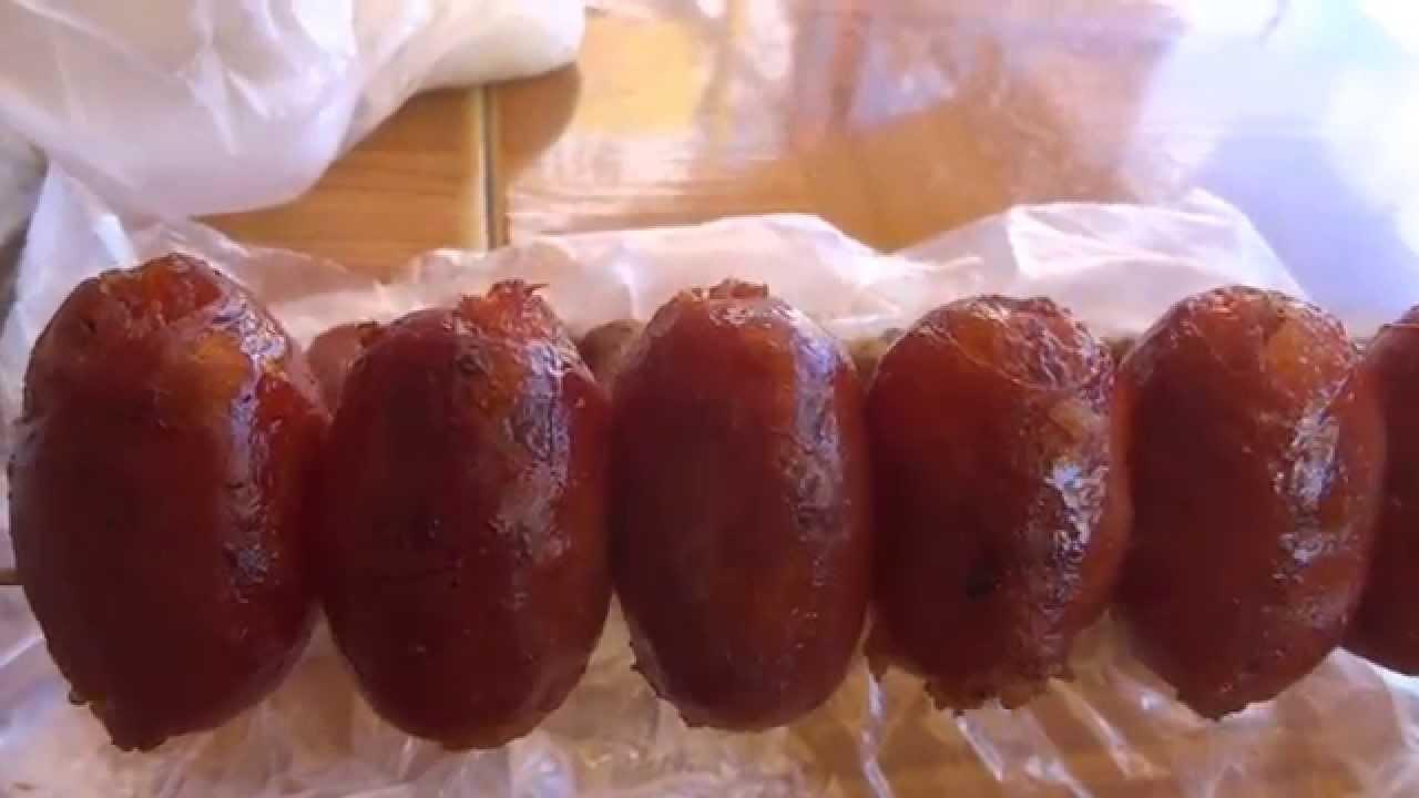 how to cook laos sausage