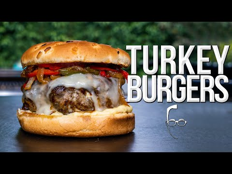 THE BEST TURKEY BURGERS | SAM THE COOKING GUY 4K