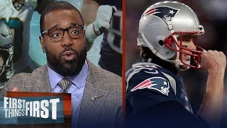 Chris Canty previews Jaguars - Patriots, Talks Tom Brady's injured hand | FIRST THINGS FIRST