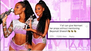N0RMANI W0N BIG AT VMAS...BUT CAN WE GIVE HER PR0PS W/0 MENTI0NING BEY0NCE?