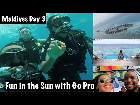 Maldives Vacation Vlog: Go Pro and Fun in the Sun