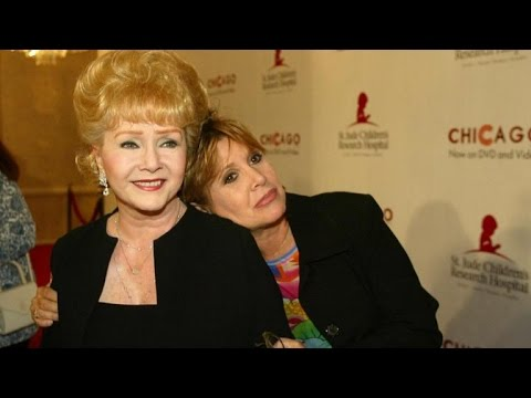 Debbie Reynolds Dies Day After Daughter Carrie Fisher's Death