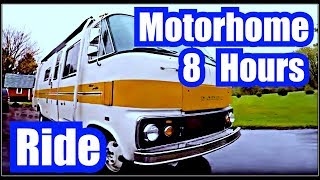 ✭ Relaxing OLD SCHOOL MOTOR HOME RIDE ~ 8 Hours ~ Diesel Rhythm Sounds