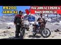 finally at shinku la pass new route to zanskar ep 05 keylong to shinkula pass on rs 200
