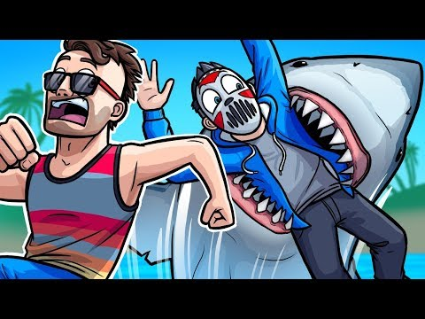 Surprise Shark Attack! - Gmod Deathrun Funny Moments (Shark Week Edition)