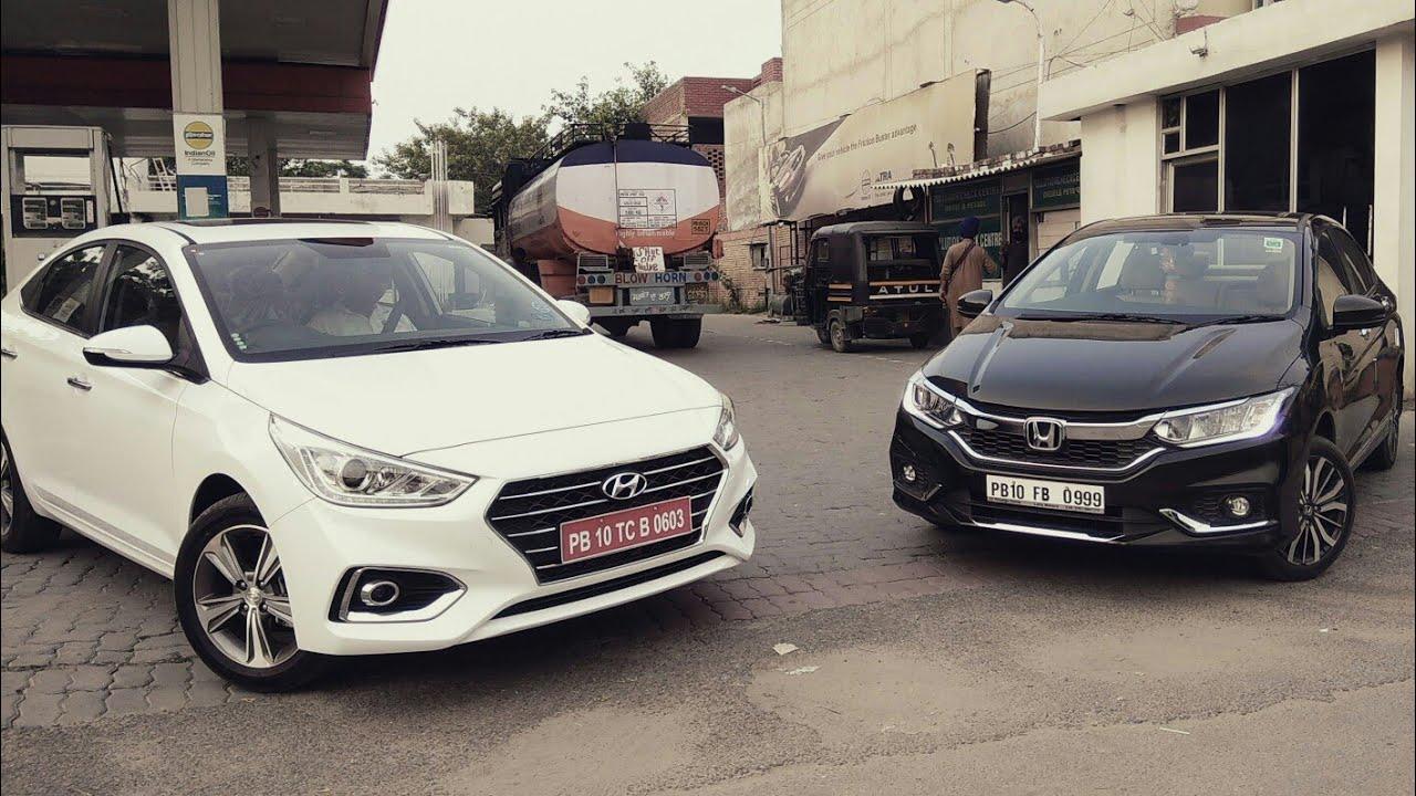 New Hyundai Verna 2017 Vs Honda City
