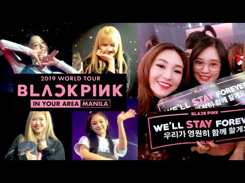 BLACKPINK CLOSE INTERACTION!!! 😱 IN YOUR AREA MANILA 2019 TOUR + SEND-OFF EXPERIENCE 🖤💖