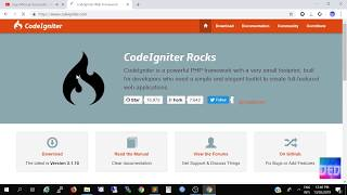 Tutorial Codeigniter View Table Mysql Pemula | CI Menampilkan Isi Table Database Mysql