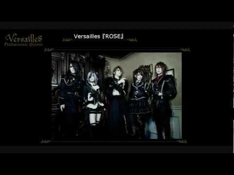 Versailles New Single ROSE Announcement