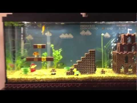 Watch Super Mario Bros Fish Tank