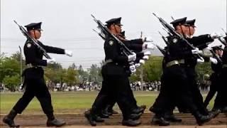 2018年度 第11旅団創立10周年 真駒内駐屯地64周年 観閲行進