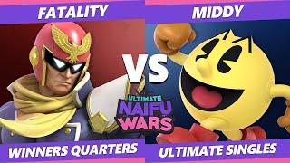 Naifu Wars 12 Winners Quarters - Fatality (Captain Falcon) Vs. SAC | Middy (Pac-Man) SSBU Singles