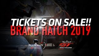 BRANDS HATCH 2019 - TICKETS ON SALE thumbnail
