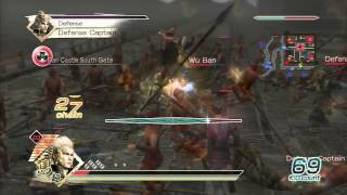 Dynasty Warriors 6 (US) - Ma Chao Gameplay + Commentary Part 1/2 (Master Difficulty)