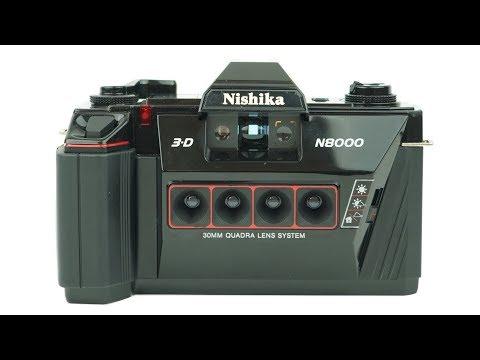 How to use a Nishika N8000 3D 35mm Film Camera