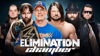 WWE 2K17 Elimination Chamber WWE Championship Highlights #WWEChamber