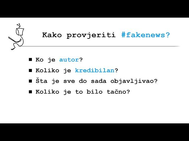 Kako prepoznati fakenews