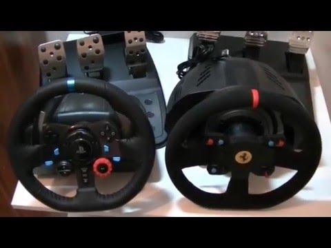 gran turismo raceworld hardwaretest ps4 lenkr der logitech g29 vs thrustmaster t300 teil. Black Bedroom Furniture Sets. Home Design Ideas