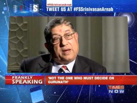 Frankly Speaking with N Srinivasan - Full Episode