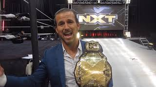 Gambar cover NXT Champ Adam Cole talks Undisputed Era, Historic Moment, NXT, USA Network, Fans, Baszler at WWE PC