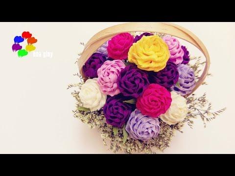Hoa Hồng Xoắn Giấy [Bản Mini] - Twisted Rose paper toturial [ Tiny vesrion]