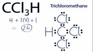 CCl3H Lewis Structure: How to Draw the Lewis Structure for CCl3H