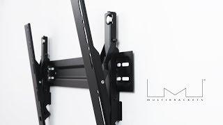 M VESA Wallmount Super Slim Tilt 600 MAX