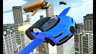 Flying Car Simulator Full Gameplay Walkthrough