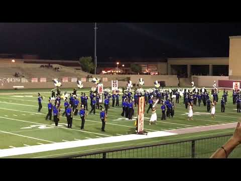 Cathedral City marching band 2017 at West Valley high school