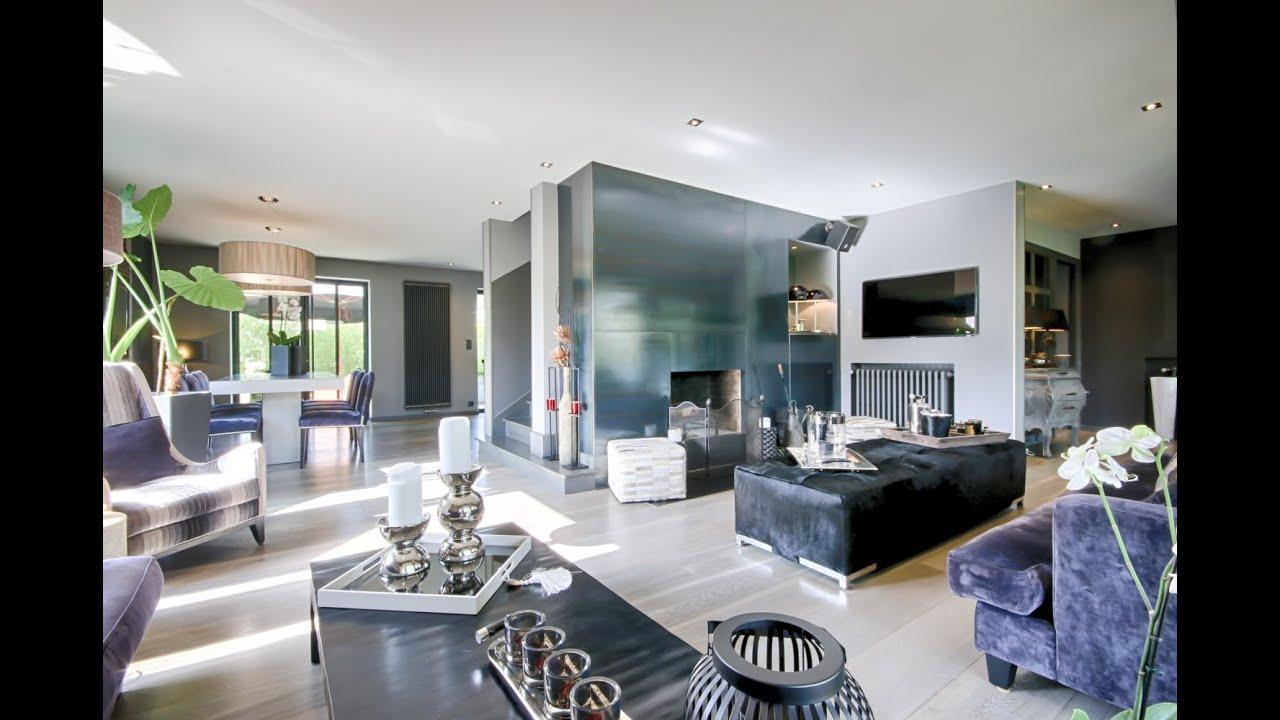 Saint jorioz magnifique villa design enti rement r nov e for Design interni appartamenti