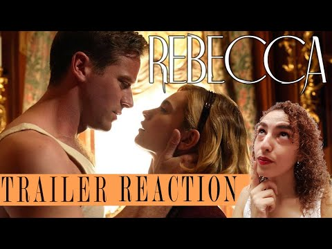 REBECCA 2020 Trailer REACTION – on Netflix starring Lily James & Armie Hammer