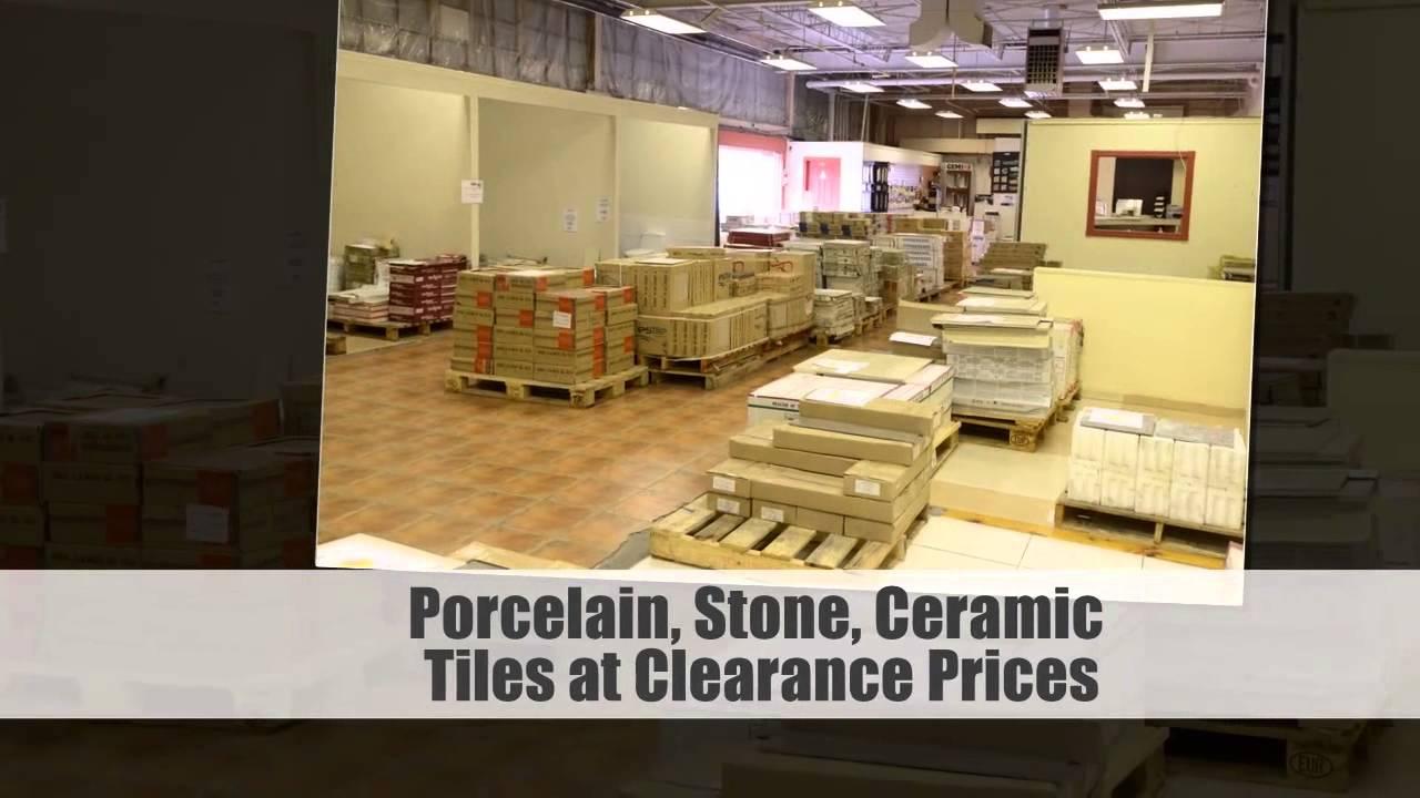 Ceramic Tile World: Tile Clearance Center in Toronto - YouTube
