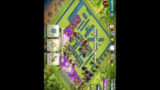 Clash Of Clans Mod - attack with 391 barbar lv max
