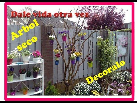 Rboles secos doovi - Como decorar un arbol seco ...