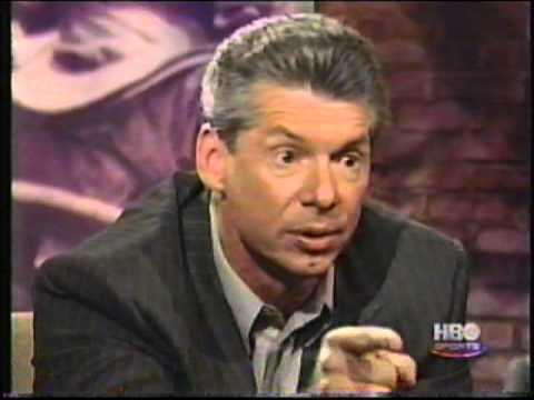 Bob Costas heated Vince McMahon interview pt 2