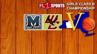 2017 Section V Girls Class B Championship - Mynderse vs Way-Co (video replay) .::. FL1 Sports 3/4/17