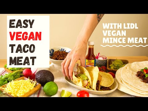 Easy Vegan Taco Meat Recipe - INSANELY Delicious by Using Lidl Next Level Hack Vegan Mince!
