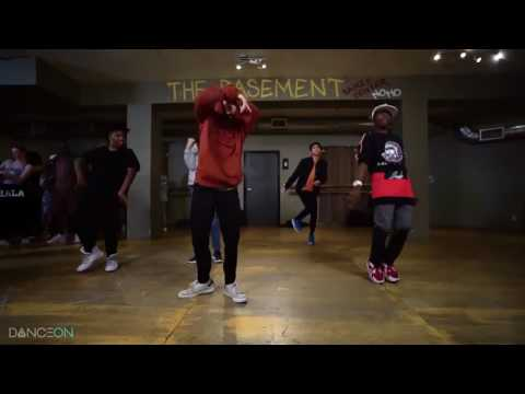 Big will Simmons ,Josh price, Sean Lew , gabe de Guzman Kehlani - CRZY Antoine Troupe Choreography