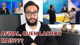 MARINA x BOLSONARO no debate da Rede TV! Quem lacrou mais???