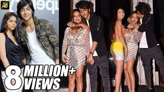 Suhana Khan's Boyfriend Ahaan Pandey CAUGHT Drunk in front of Mother