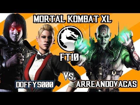 Mortal Kombat X - Doffy5000 (Liu Kang, Cassie)  vs ArreandoVacasMX (Quan-chi) - FT10 thumbnail