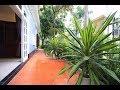 Corner furnished villa Ciputra D4 Block for rent, green garden, bright