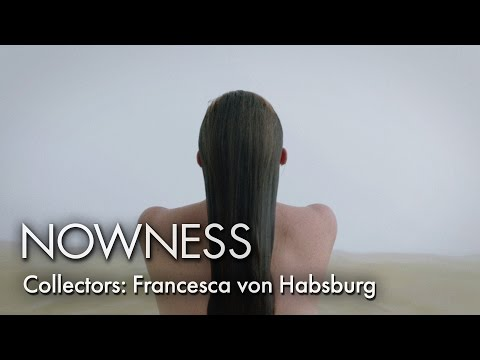 Contemporary art collector Francesca von Habsburg