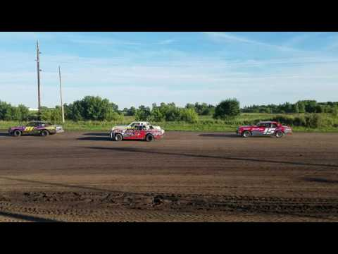 7/8/16 Rapid Speedway Heat Race